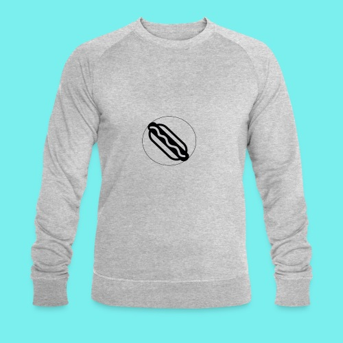 Hotdog logo - Økologisk Stanley & Stella sweatshirt til herrer