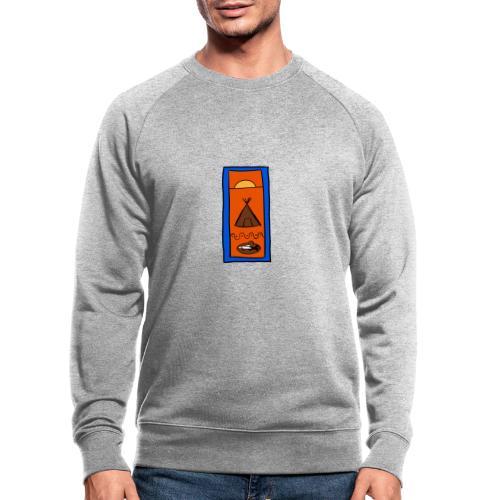 Samisk motiv - Økologisk sweatshirt for menn fra Stanley & Stella