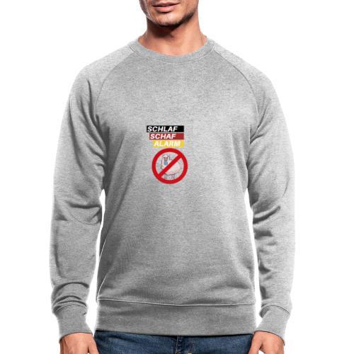 Schlaf-Schaf-Alarm - Männer Bio-Sweatshirt