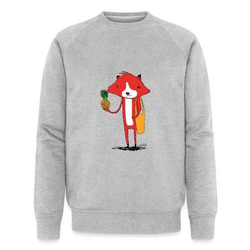 Ananasfüchslein - Männer Bio-Sweatshirt von Stanley & Stella