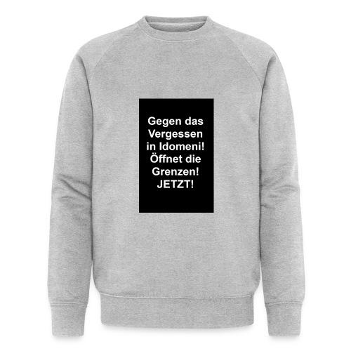 Gegen das Vergessen - Männer Bio-Sweatshirt von Stanley & Stella