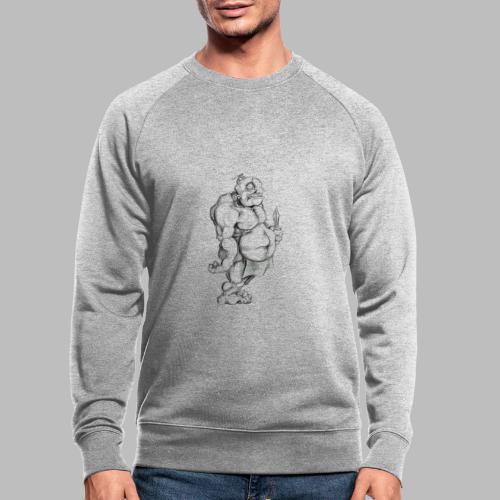 Big man - Männer Bio-Sweatshirt