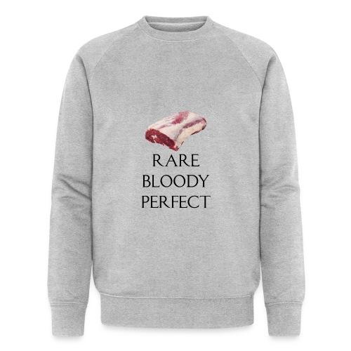 Rare Bloody Perfect , beef for the meat eater - Økologisk Stanley & Stella sweatshirt til herrer