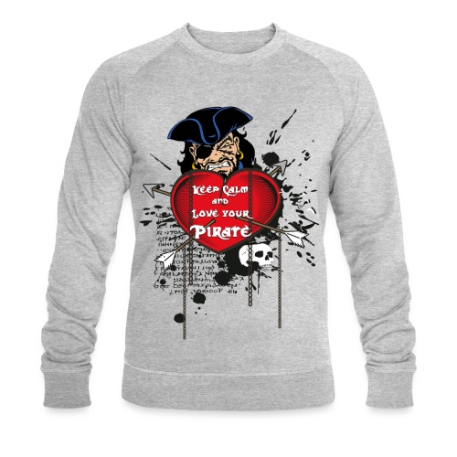 love your pirate - Felpa ecologica da uomo di Stanley & Stella