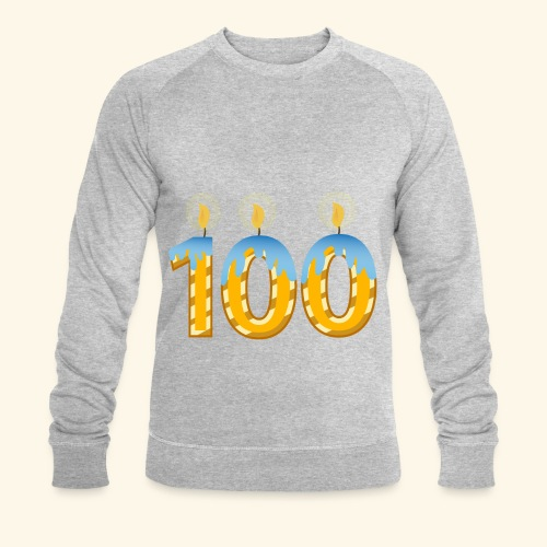 100th Birthday Celebration Party - Men's Organic Sweatshirt by Stanley & Stella