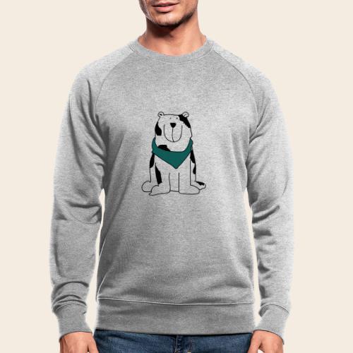 Gros chien mignon - Sweat-shirt bio