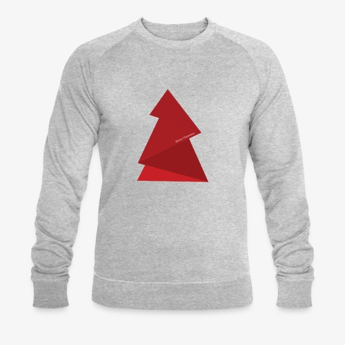 sapin triangles rouges - Sweat-shirt bio Stanley & Stella Homme