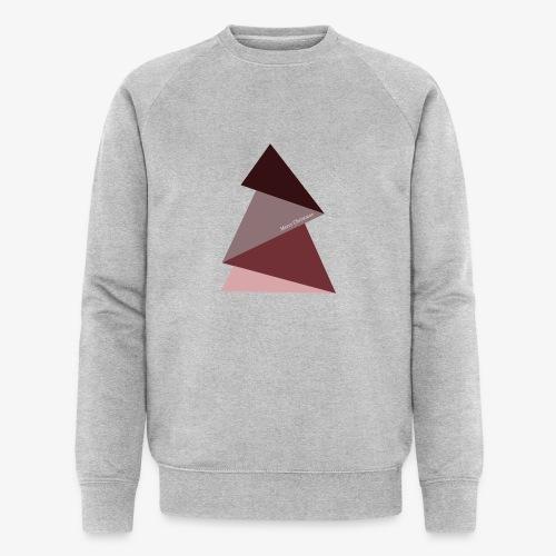 sapin triangles 2 - Sweat-shirt bio
