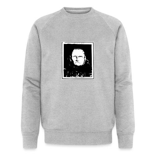 Gesicht Lavater - Männer Bio-Sweatshirt von Stanley & Stella