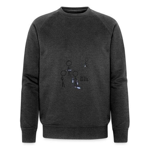 har sei png - Økologisk sweatshirt for menn fra Stanley & Stella