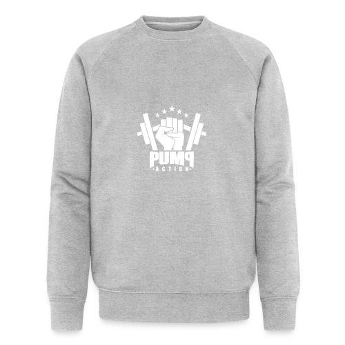 PUMP-ACTION LOGO WHITE - Männer Bio-Sweatshirt von Stanley & Stella