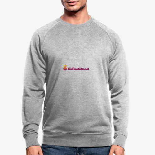 UrlRoulette Logo - Men's Organic Sweatshirt