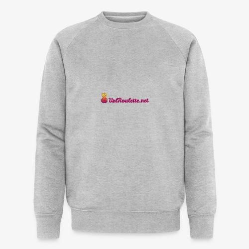 UrlRoulette Logo - Men's Organic Sweatshirt by Stanley & Stella