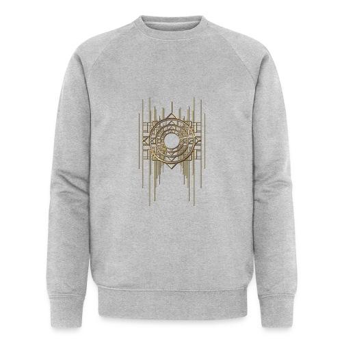 Abstract Geometry Gold Metal Art Deco Vintage - Men's Organic Sweatshirt
