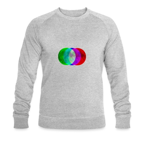 RGB moon - Ekologiczna bluza męska Stanley & Stella