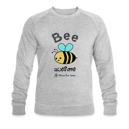 Bees2 - Protect the bees - Men's Organic Sweatshirt by Stanley & Stella