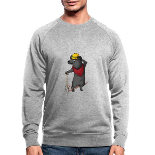 Arbeiter Ratte - Männer Bio-Sweatshirt