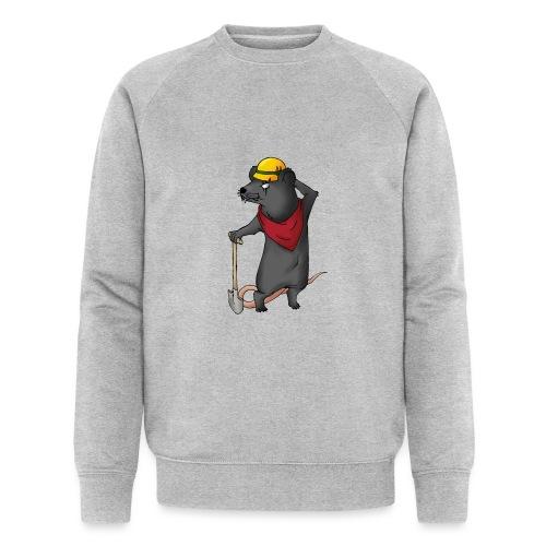 Arbeiter Ratte - Männer Bio-Sweatshirt von Stanley & Stella