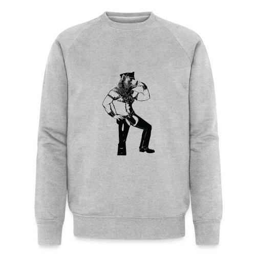 Grrr leather bear - Sweat-shirt bio Stanley & Stella Homme