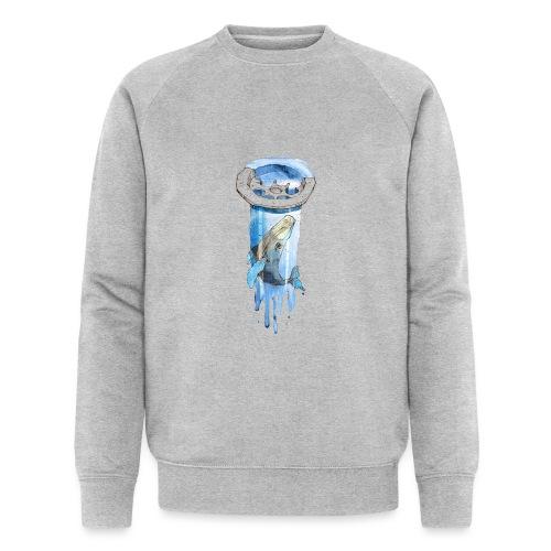 Wal im Abfluss (Whale in the Drain) - Männer Bio-Sweatshirt von Stanley & Stella