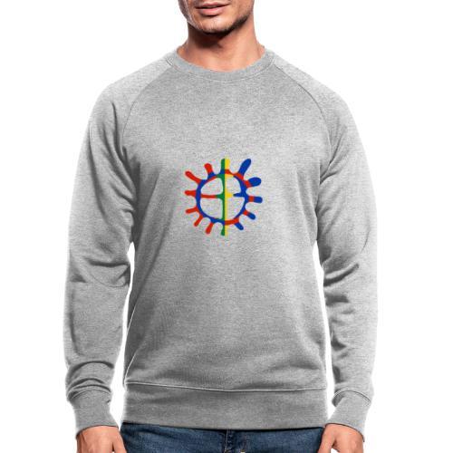 Samisk sol - Økologisk sweatshirt for menn