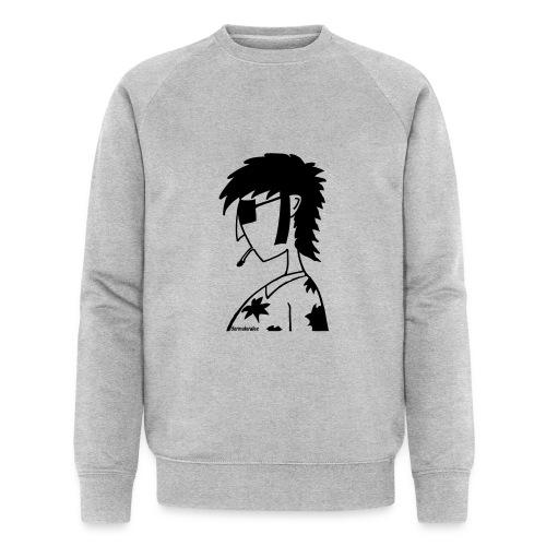 hippie - Männer Bio-Sweatshirt
