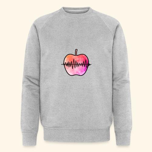 AppleJazzDK Logo - Økologisk sweatshirt til herrer