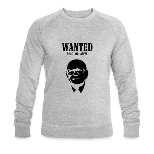 Kekkonen Wanted - Dead or Alive - Miesten luomucollegepaita