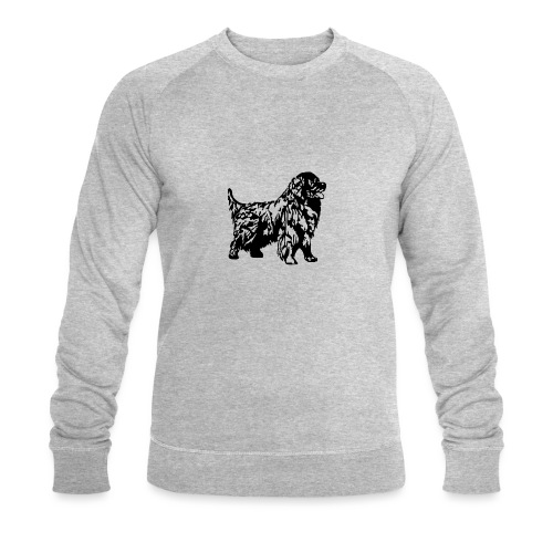 Neufundländer - Männer Bio-Sweatshirt