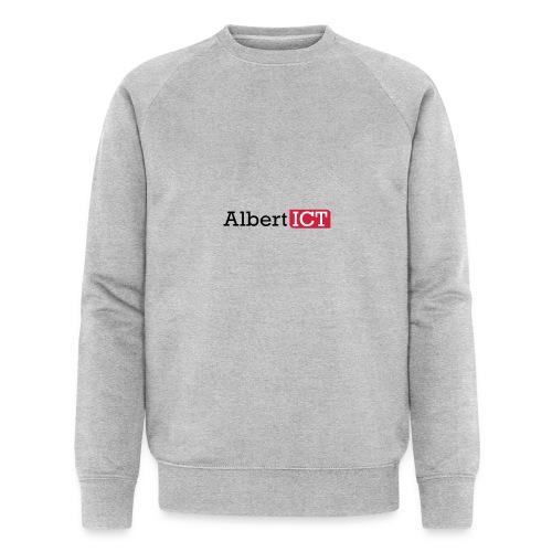 AlbertICT logo full-color - Mannen bio sweatshirt van Stanley & Stella