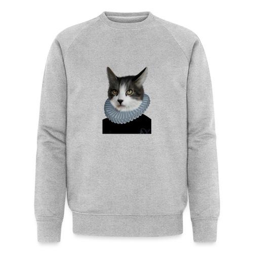 Noble Cat - Männer Bio-Sweatshirt von Stanley & Stella