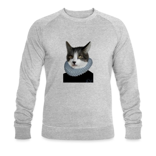 Noble Cat - Männer Bio-Sweatshirt