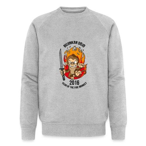 Fire monkey - Men's Organic Sweatshirt by Stanley & Stella