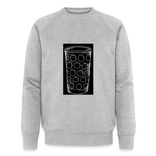 Leergut Dubbeglas -schwarz - Männer Bio-Sweatshirt