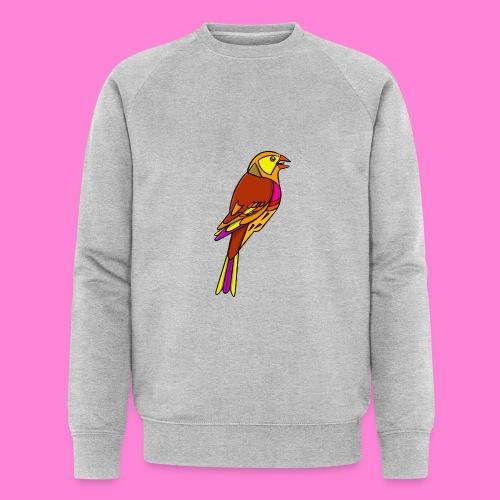 Geelgors illustratie - Mannen bio sweatshirt