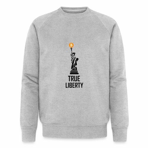 True liberty - Men's Organic Sweatshirt