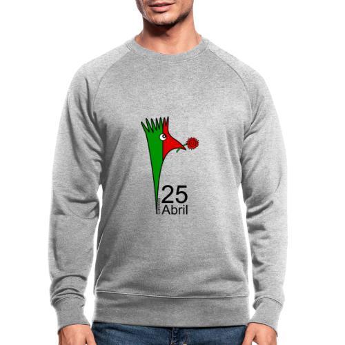 Galoloco - 25 Abril - Männer Bio-Sweatshirt