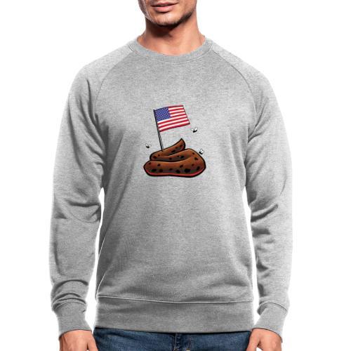 USA Haufen - Männer Bio-Sweatshirt