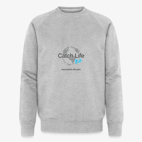Catch Life Logo - Men's Organic Sweatshirt by Stanley & Stella