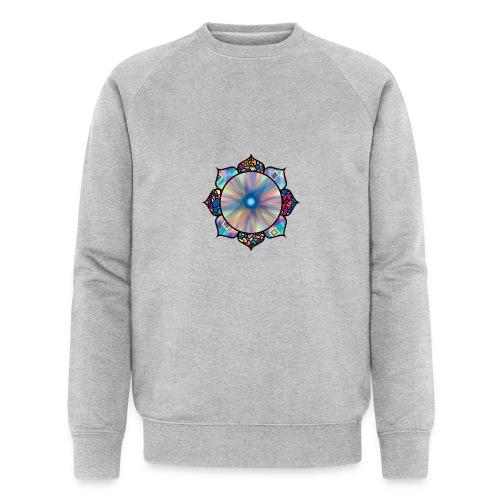 Buddha Flower - Men's Organic Sweatshirt by Stanley & Stella