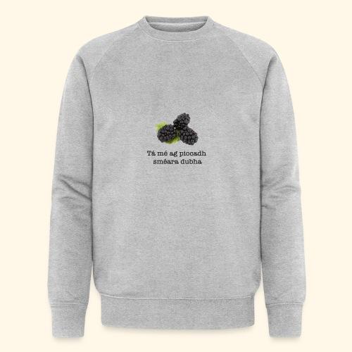Picking blackberries - Men's Organic Sweatshirt by Stanley & Stella