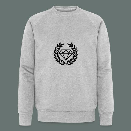 Black diamond Logo - Men's Organic Sweatshirt by Stanley & Stella