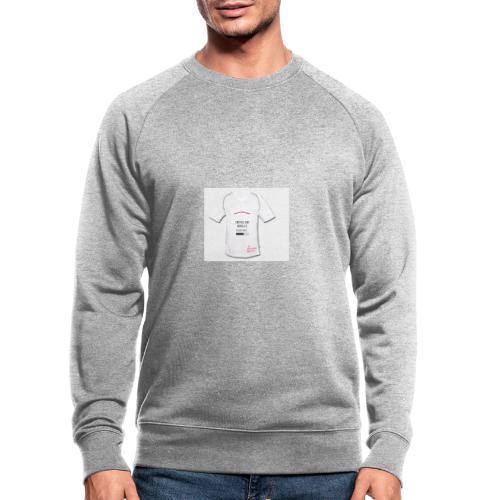 Tennisplayer, fairplayer - Mannen bio sweatshirt