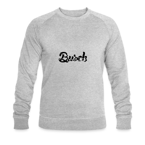 Busch shatter black - Mannen bio sweatshirt van Stanley & Stella