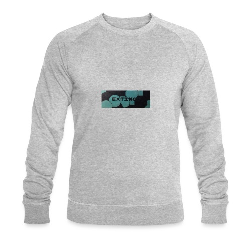 Extinct box logo - Men's Organic Sweatshirt