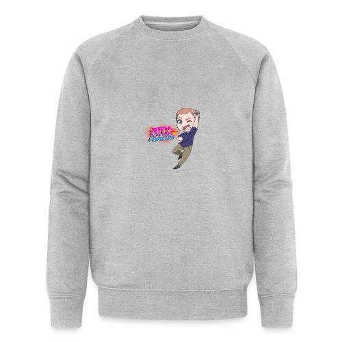 Jørgen spiller lommemonstre - Økologisk sweatshirt til herrer