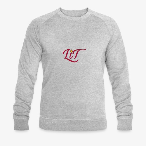 LiT CO Logo #1 - Men's Organic Sweatshirt by Stanley & Stella