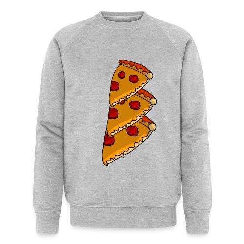 pizza - Økologisk sweatshirt til herrer
