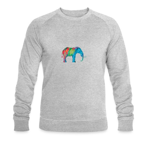 Elefant - Men's Organic Sweatshirt by Stanley & Stella