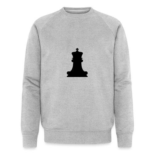 The Black King - Men's Organic Sweatshirt by Stanley & Stella